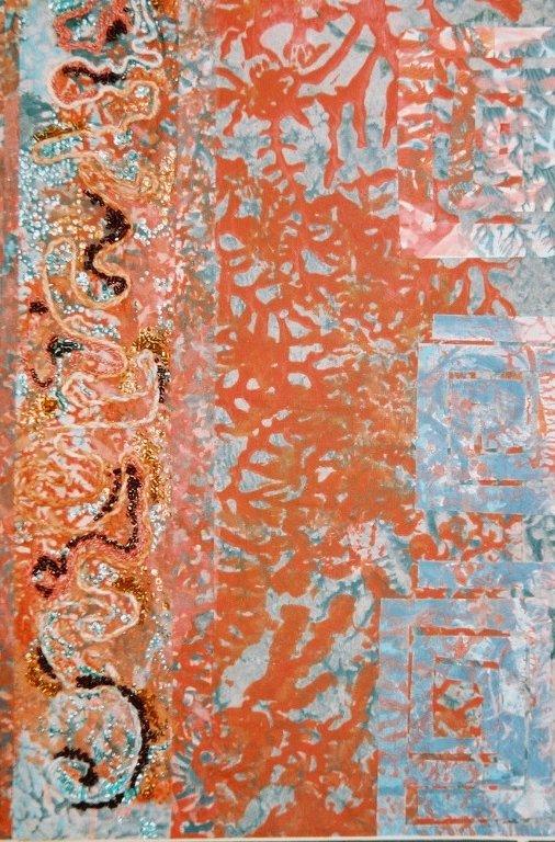 Oriental panel
