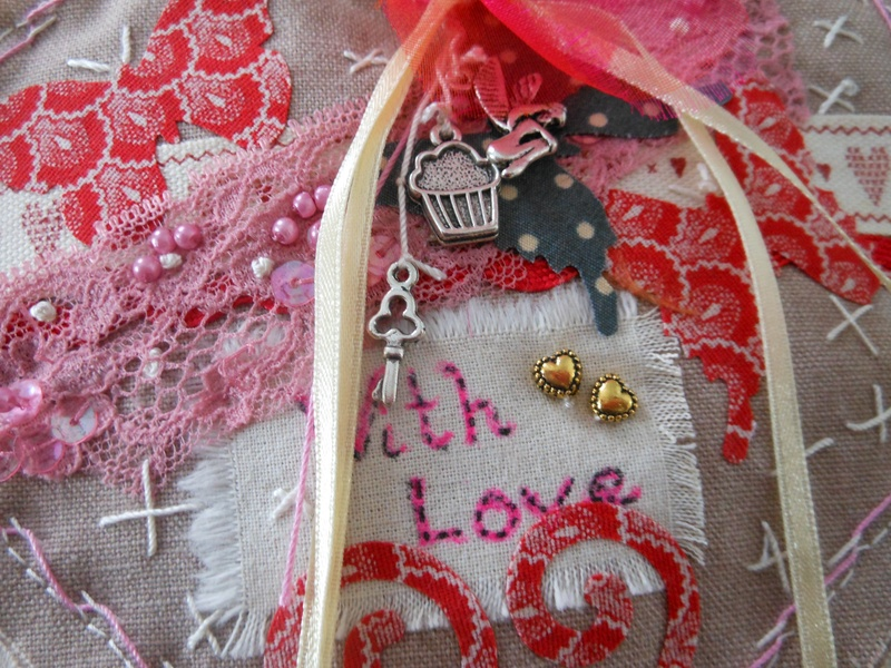 detail: Vintage Love heart